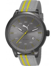 Puma PU103641001 Cool Grey Nylon Strap Watch