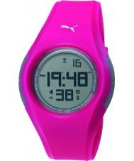 Puma PU911191009 Tonic Pink Silicone Strap Watch