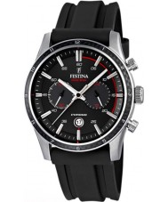 Festina F16874-I Mens Tour of Britain 2015 All Black Chronograph Watch