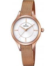 Festina F16960-1 Ladies Mademoiselle Rose Gold Plated Bracelet Watch