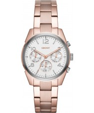 DKNY NY2472 Ladies Crosby Rose Gold Plated Chronograph Watch