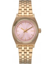 Nixon A399-2360 Ladies Small Time Teller Gold Plated Watch