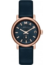 Marc Jacobs MBM1331 Ladies Baker Rose Gold Navy Watch