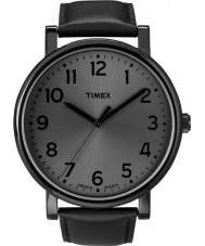 Timex T2N346 All Black Classic Round Watch