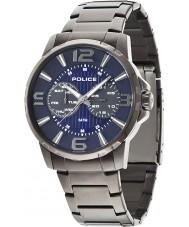 Police 14100JSU-03M Mens Visionary Gunmetal Steel Bracelet Watch