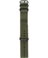 Elliot Brown STR-N01 Mens Canford-Bloxworth Olive Nylon Strap