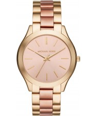 Michael Kors MK3493 Ladies Slim Runway Gold and Rose Bracelet Watch