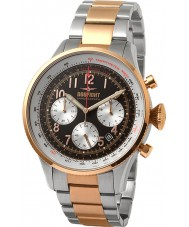 Dogfight DF0052 Mens Wingman Two Tone Steel Chronograph Watch