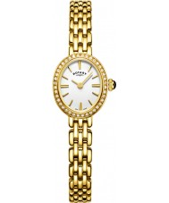 Rotary LB05051-02 Ladies Timepieces Cocktail Gold Plated Bracelet Watch