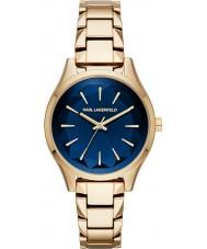 Karl Lagerfeld KL1628 Ladies Belleville Gold Plated Bracelet Watch