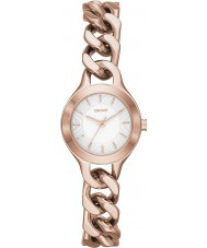 DKNY NY2214 Ladies Chambers Rose Gold Watch