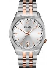 Bulova 98B220 Mens BA II Two Tone Steel Bracelet Watch