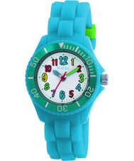 Tikkers TK0012 Kids Fluorescent Blue Watch