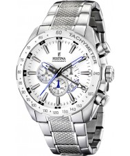 Festina F16488-1 Mens Chronograph Dual Time Watch