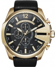 Diesel DZ4344 Mens Mega Chief Gold Black Chronograph Watch