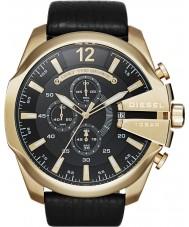Diesel DZ4344 Mens Mega Chief Gold Black Chronograph Watch