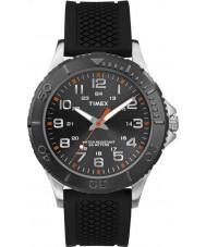 Timex TW2P87200 Mens Taft Street Black Silicone Strap Watch