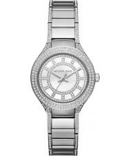 Michael Kors MK3441 Ladies Mini Kerry Stone Set Silver Tone Watch