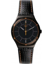Swatch YWB401 Irony Big Carbonata Watch