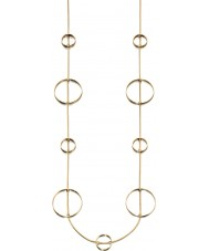 Fiorelli N3958 Ladies Modern Metals Necklace