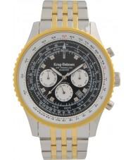 Krug-Baumen 600802DSA Mens Air Traveller Diamond Automatic Watch