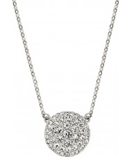 Fossil JF00138040 Ladies Vintage Glitz Silver Steel Necklace