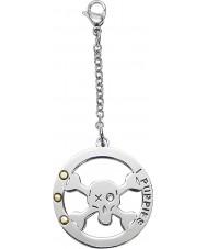 I Puppies PA-004 Dog Steel Crystal Medallion