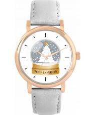 Toff London TLWS-12862-VAR Christmas Snow Globe Watch