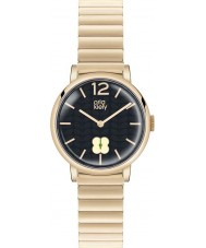 Orla Kiely OK4008 Ladies Frankie Navy Hamilton Gold Plated Watch