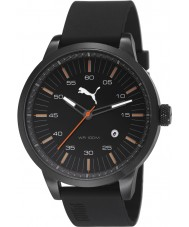 Puma PU103641003 Cool Black Silicone Strap Watch