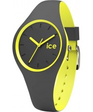 Ice-Watch DUO.AYW.S.S.16 Ice Duo Anthracite Silicone Strap Watch