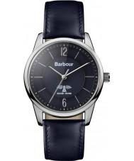 Barbour BB049BKBL Mortimer Blue Leather Strap Watch
