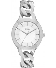 DKNY NY2216 Ladies Chambers Silver Steel Bracelet Watch
