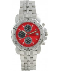 Krug Baümen 7186G-R Sportsmaster Red Sports Chronograph Watch