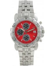Krug Baümen 7186G-R Sportsmaster Red Sports Chronograph Watch