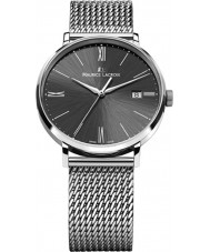 Maurice Lacroix EL1087-SS002-310 Mens Eliros Black and Silver Mesh Watch