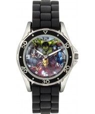 Avengers AVG3529 Marvel Boys Watch with Black Silicone Strap