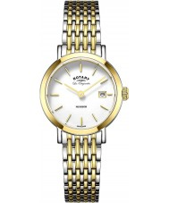 Rotary LB90154-01 Ladies Les Originales Windsor Two Tone Gold Plated Watch