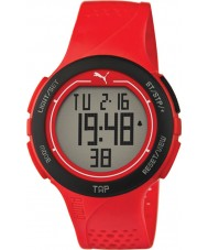 Puma PU911211002 Touch Red Resin Strap Chronograph Watch