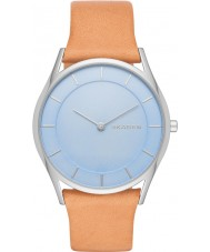 Skagen SKW2451 Ladies Holst Light Brown Leather Strap Watch