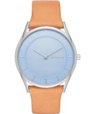 Skagen SKW2451 Ladies Holst Light Brown Leather Strap Watch