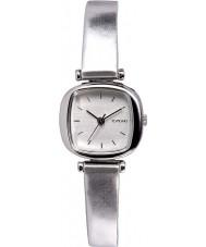 Komono KOM-W1220 Ladies Moneypenny Metallic Silver Watch