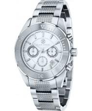 Klaus Kobec KK-20005-05 Mens Chronos Silver Tone Steel Watch