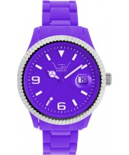 LTD Watch LTD-111001 All Purple Plastic Watch