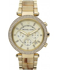 Michael Kors MK5632 Ladies Parker Gold Plated Chronograph Watch