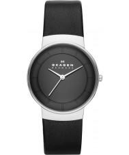 Skagen SKW2059 Ladies Klassik Black Leather Strap Watch