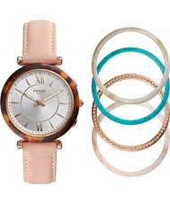Fossil FTW5042SET Ladies Carlie Smartwatch and Bezel Gift Set