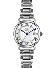 Rotary LB90140-07 Ladies Les Originales Carviano Silver Steel Watch