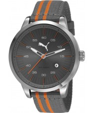 Puma PU103641004 Cool Grey Nylon Strap Watch
