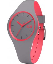 Ice-Watch DUO.DCO.S.S.16 Ice Duo Grey Silicone Strap Watch